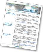 Risk Management Snapshot newsletter